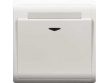 Schneider Pieno 16A  Electronic Key Card Switch with Time Delay, White