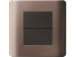Schneider ZENcelo 2 Gang 2 way Full-Flat Switch